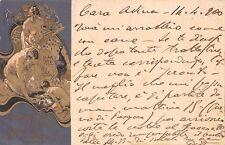 C5657) NAPOLI 1900, ESPOSIZIONE D'IGIENE, ILLUSTRATORE HOHENSTEIN. VG NEL 1900.