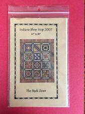 Indiana Shop Hop 2007 Quilt Pattern *The Back Door*-