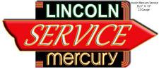 Lincoln Mercury Laser Cut Out Garage Shop Man Cave Metal Sign 15x35.5  RVG113S