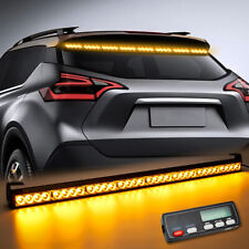 "36"" Traffic Advisor Emergency Flash Strobe Light Bar Amber Display Controller"