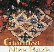 Glorified Nine Patch Quilt Pattern Pieced SJ