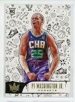 2019-20 PJ Washington Jr. Panini Court Kings Rookie RC #154