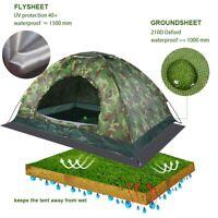 Tenda pop-up istantanea per 2 persone Campeggio Campeggio Escursione all'aperto