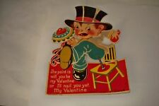 Politically Incorrect Old Vintage Valentine Printed in Germany