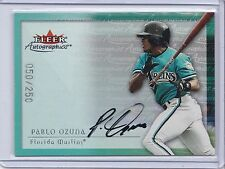 2000 Fleer Autographics Autograph Pablo Ozuna