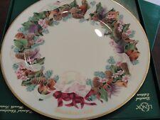 Lenox Colonial Christmas Wreath Plate 1992 North Carolina