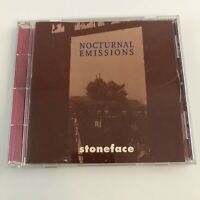 Nocturnal Emissions Stoneface Netherlands CD - no scratches on disc