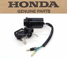 new honda ignition keys switch lock set 01-11 xr80 xr100 crf80 crf100 oem  #t57 (fits: honda xr80r)