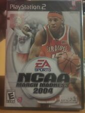 Brand New!!! NCAA March Madness 2004 (Sony PS2, 2003) Factory Sealed!!!