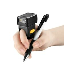 Evnvn Finger Ring Barcode Scanner Wireless Bluetooth Wired 2D Reader For Linux