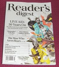Reader's Digest magazine July 2015 – Live Aid: 30 Years On