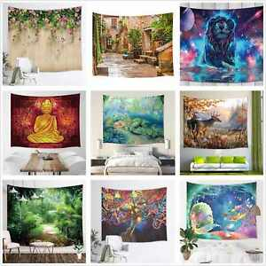 Hippie Tapestry Wall Hanging Bohemia Mandala Tapestries Bedspread Wall Poster
