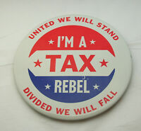 Rare 1970s Democratic Repulican Party Vote Mod Plastic Keychain New NOS Monogram