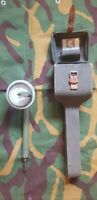 RARE YUGOSLAVIAN Aiming Circle Carrying Case Light Artillery Mortar Compass