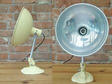 Vintage Tilting Pifco Heat Sun lamp converted Desk/Table Lamp REWIRED PAT tested