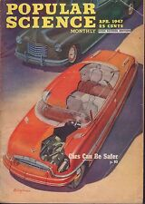 Popular Science Magazine April 1947 Cars Can Be Safer 081917nonjhe