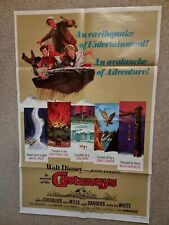 Disney's In Search Of The Castaways US One Sheet Poster 1970 Re-Release