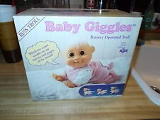 Troll Doll  Crawling Baby Giggles Battery Operated Troll~Collector~RUSS NEW!