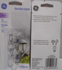Lot of 24 GE Lighting Landscape 4 Watt 12 Volt Wedge Base T5 Bulbs