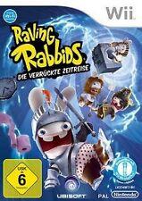 Nintendo Wii Rayman Raving Rabbids folle viaggio nel tempo * tedesco molto buona Resp