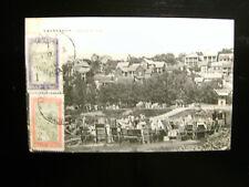 Tananarive,  Madagascar, Marche au Bois, gelaufen 1914, Gebrauchsspuren (1007)