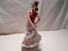 Royal Dux Bohemia Spanish Dancing Lady Handpainted Fine Porcelain