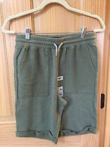 New Oshkosh  Boy Green Knit Pull-On Shorts many sizes