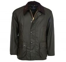 Barbour Classic Bedale Wax Jacket Size 44 Olive Green NEW with Tags retail $379