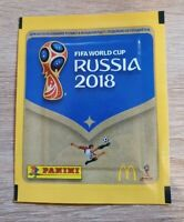 Panini 1 Tüte MCDonalds FIFA World Cup 2018 Bustina Pochette Packet Pack Russia