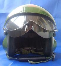 Neu Motorradhelm Rollerhelm Jethelme Luftwaffe Pilot Helm Grün S M L XL