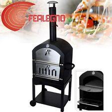 BARBECUE BBQ PER PIZZA 44X65X158CM CON CAMINO ESTERNO GIARDINO ART. GT10300070