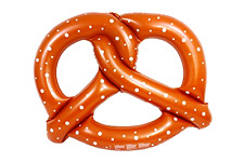 Giant Pretzel Inflatable Float Raft Swimming Pool Fun New Amazing