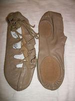 Capezio Ghillie 389 Dance Shoe 4, 5, 6.5, 10 Medium Tan Irish Lyrical New In Bag