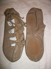 Capezio Ghillie 389 Dance Shoe 3, 3.5, 4, 5, 6.5, 10 Medium Tan Irish New In Bag