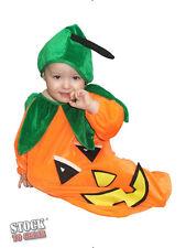 Halloween Vestido De Lujo # Bebé Calabaza 6-12 Meses
