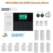 WiFi Cloud APP GSM RFID Wireless Home Security Alarm Burglar System House Safety