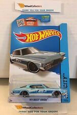 1971 Buick Riviera #15 * Blue Kmart Only * 2015 Hot Wheels * L14