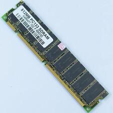 512mb pc133 133mhz Low density sdram 168pin memory DIMM Non-ECC desktop memory