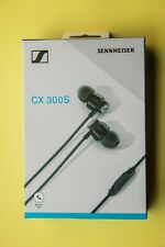 Sennheiser CX 300S In Ear Headphones Earphones Black Replaces CX300-II