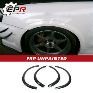 For Nissan Skyline R34 GTR SP AC Style FRP Unpainted Front Rear Fender Flares