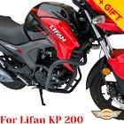 For Lifan KP 200 Crash bars KP200 Engine guard reinforced Lifan 200cc, Bonus