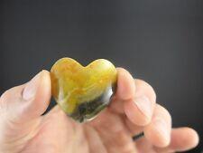 Bumble Bee Jasper Heart - Minerals Specimens - Healing Crystals - Gemstones
