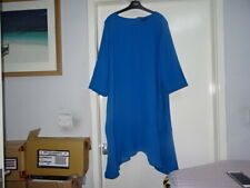 LOVELY LADIES M&S COLLECTION DARK TURQUOISE DRESS SIZE 22 RRP-£45