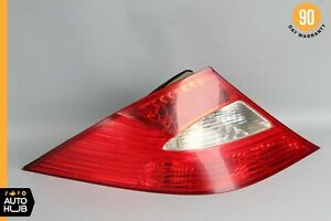 06-08 Mercedes W219 CLS550 CLS55 AMG Tail Light Lamp Rear Left Driver Side OEM