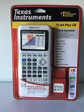 Brand New Texas Instruments TI-84 Plus CE Graphing Calculator, White