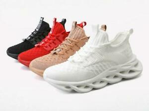Fashion Men Athletic Sneakers Sports Trainers Running Breathable Walking Shoes D
