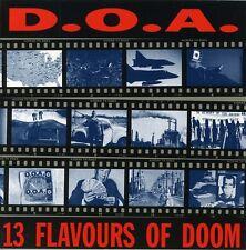 13 Flavours Of Doom - D.O.A. (2002, CD NUEVO)
