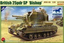 BRONCO 1/35 35077 Valentine 25PDR évêque du GOP