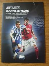 2012/2013 The Football League: Regulations & Extracts For The Information Of Pla
