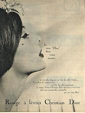 PUBLICITE ADVERTISING 014   1959   DIOR  cosmétiques 1